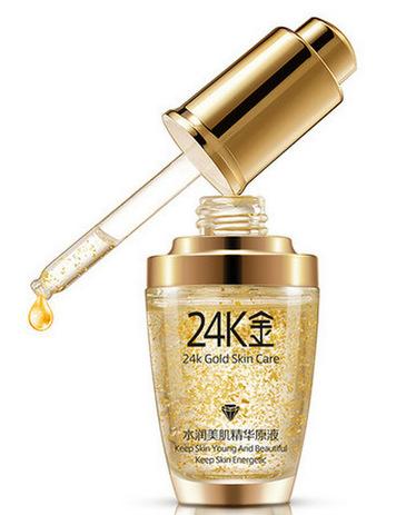 BIOAQUA Сыворотка с частицами золота и гиалуроновой кислотой / 24K Gold Skin Care 30 мл