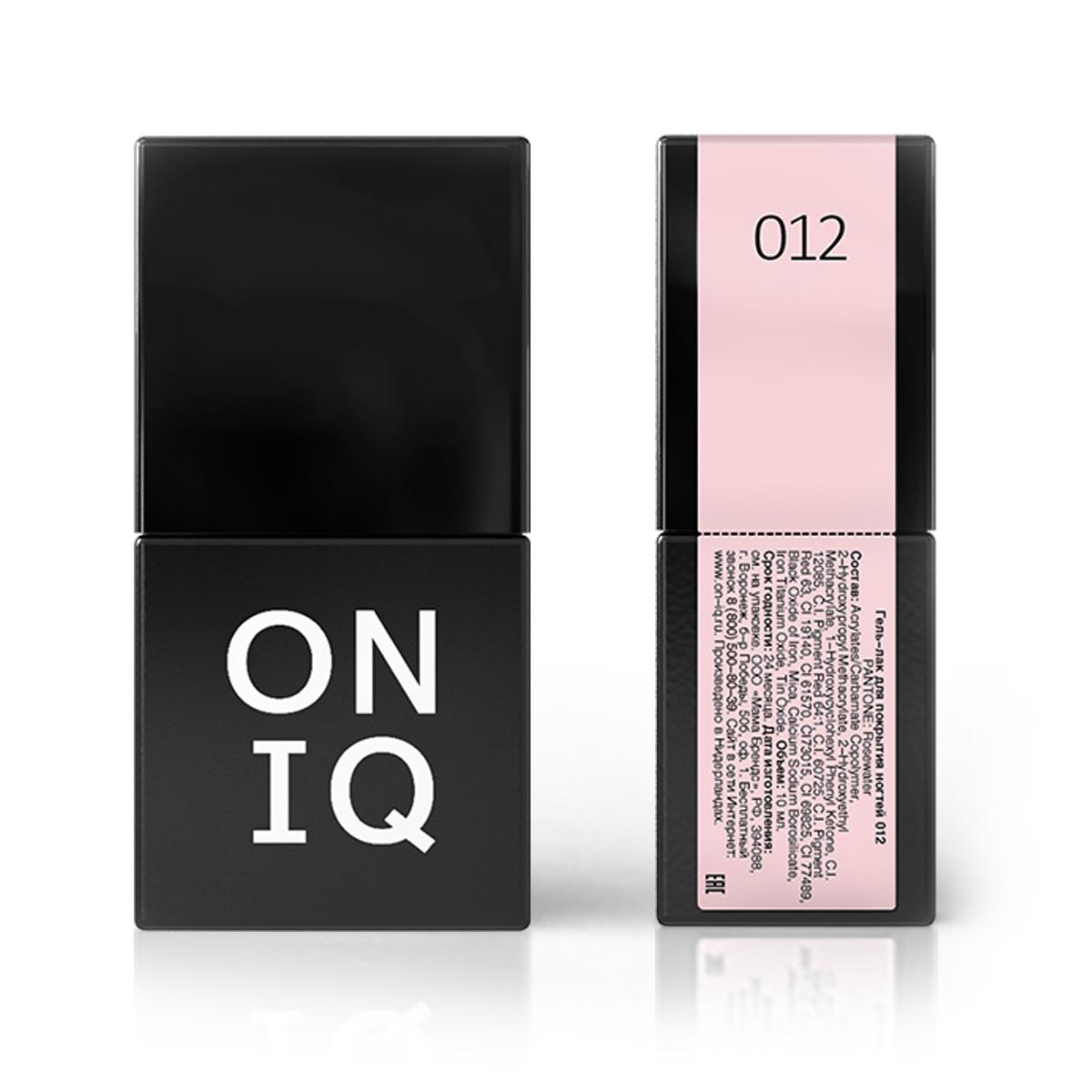 Oniq гель-лак для покрытия ногтей, pantone:
