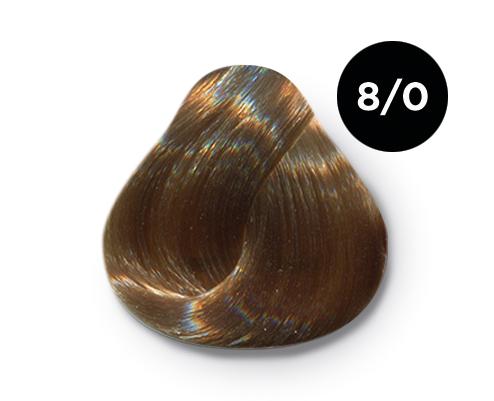 OLLIN PROFESSIONAL 8/0 краска для волос, светло-русый / OLLIN COLOR 60 мл