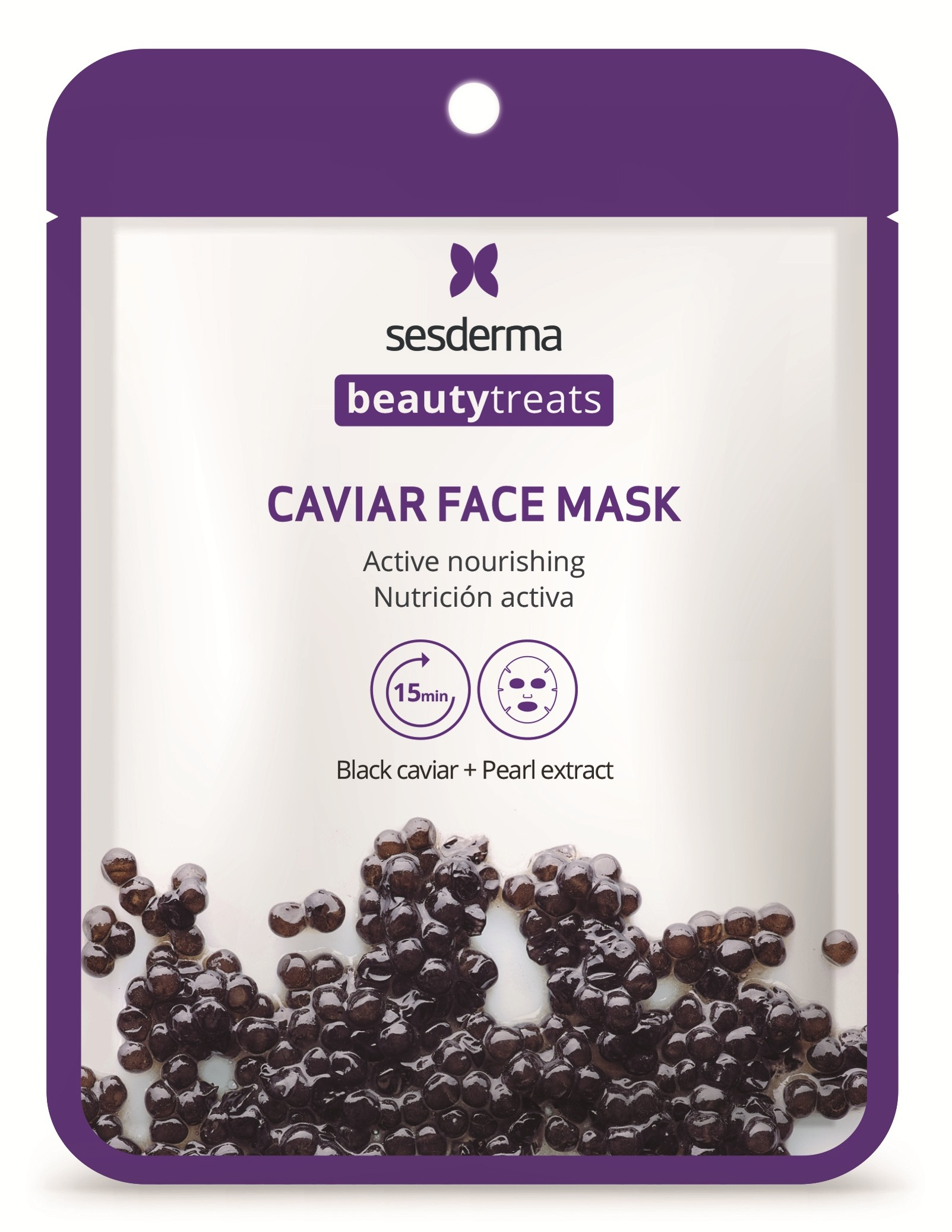 Купить SESDERMA Маска питательная для лица / BEAUTY TREATS Black caviar face mask 22 мл