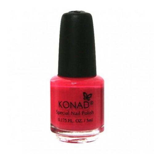 KONAD Лак на акриловой основе для стемпинга, розовый с перламутром S30 5 мл повседневный лак konad regular nail polish konad psyche green