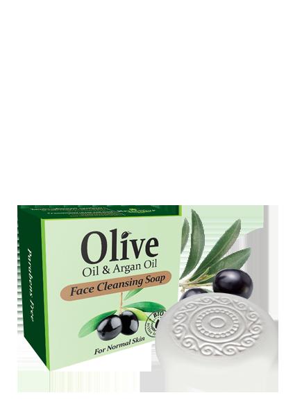MADIS Мыло для умывания с маслом арганы для нормальной кожи / HerbOlive, 100 гр -  Мыла