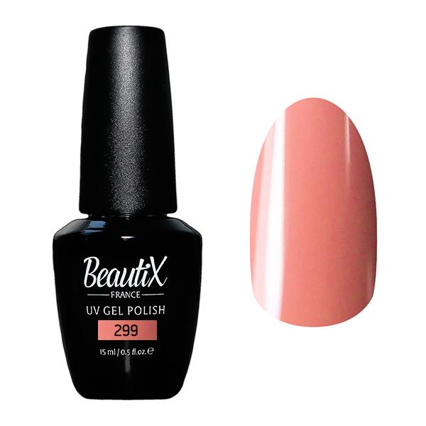 Купить BEAUTIX 299 гель-лак для ногтей 15 мл, Розовые