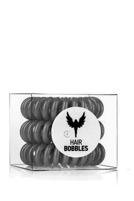HAIR BOBBLES HH Simonsen Резинка для волос Серая / Hair Bobbles HH Simonsen