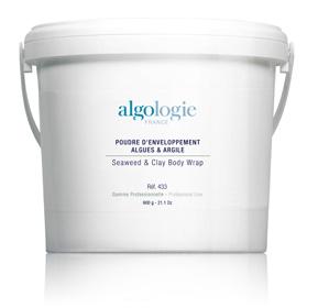 ALGOLOGIE Пудра из водорослей и глины для обертывания 600 г