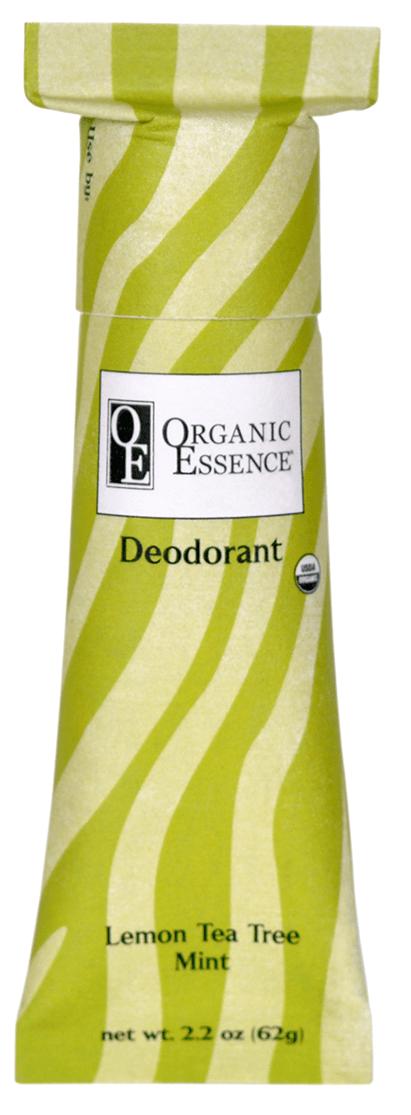 ORGANIC ESSENCE Дезодорант органический Лимон и масло чайного дерева 62 г