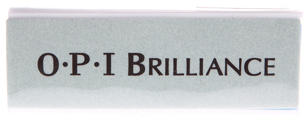 OPI Блок полировочный 1000/4000 / Brilliance BlockПилки для ногтей<br>Новый бафф от компании OPI по своим качествам превосходит профессиональные полировочные баффы других компаний. С его помощью натуральные и искусственные ногти засверкают ярко и быстро без лишних усилий. Блестящий завершающий этап маникюра. Быстро полирует искусственные и натуральные ногти до зеркального блеска. Щадит ногти и кутикулу. Способ применения: Зеленая сторона удалит дефекты и неровности, белая сторона отполирует до бриллиантового блеска. Исключает применение масел при полировке (масло ПОРТИТ пилочки и баффы).<br>