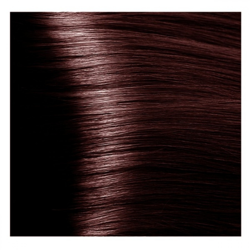 KAPOUS NA 5.53 краска для волос, светлый коричневый махагоновый / Magic Keratin 100 мл