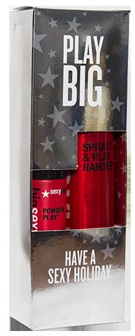 SEXY HAIR Набор Спрей для дополнительного объема и пудра для объема и текстуры (ОБ6+ОБ32) / BIG