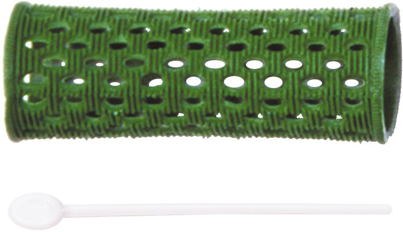 DEWAL PROFESSIONAL Бигуди пластиковые зеленые d 26мм 12шт/уп