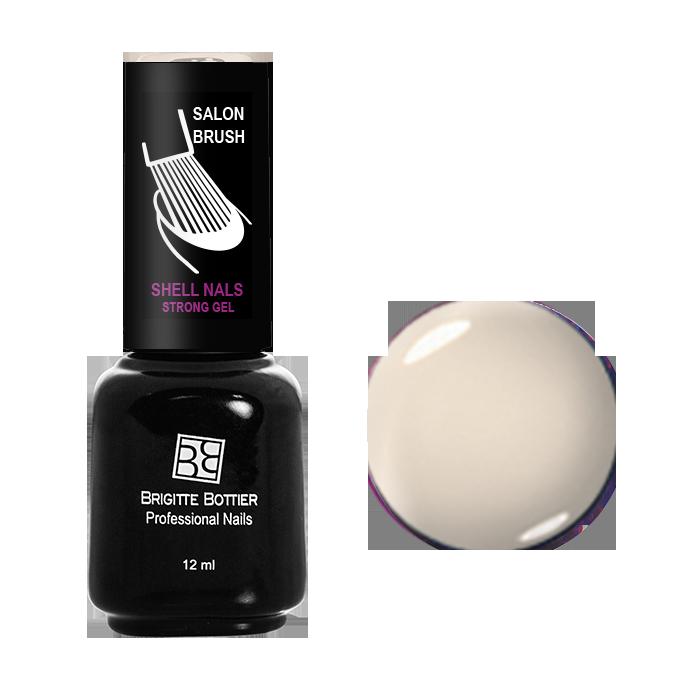 BRIGITTE BOTTIER 955 гель-лак для ногтей Кремовый белый / Shell Nails 12млГель-лаки<br>Покрытие Shell Nails соединяет лучшие качества гелей и лаков: быстро и ровно наносится, прекрасно выглядит, совершенно не боится повреждений, снимается одним движением без малейшего вреда для ногтевой пластины. Стойкое покрытие Shell Nails имеет классический лаковый блеск, быстро отвердевает под УФ излучением по принципу геля, сияет насыщенным цветом от наложения до снятия. Мы предлагаем Вам выбор покрытия из широкой гаммы трендовых цветовых оттенков. Лак наносится без предварительного опиливания ногтей – а значит, без микротравм и повреждений. Отличается невероятной прочностью – ногти сохраняют идеальный вид 2-3 недели в любых условиях. Лак благотворно действует на здоровье ногтевых пластин – добавляет им гибкости, восстанавливает прочность истонченных участков. Способ применения: каждый слой необходимо просушивать в УФ лампе 2 минуты, в LED - 30 секунд. На предварительно подготовленные ногти, нанесите Base Coat (базовое покрытие) и просушите. Нанесите цвет тонким слоем и просушите. Нанесите второй слой цвета и просушите. Покройте ногти слоем Top Coat (верхним покрытием) и просушите. Удалите липкий слой.<br><br>Цвет: Белые<br>Пол: Женский<br>Класс косметики: Профессиональная<br>Виды лака: Глянцевые