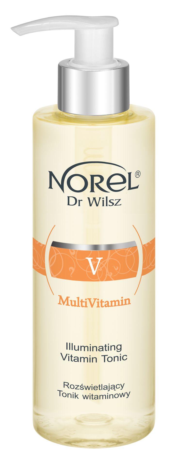 NOREL Dr. Wilsz Тоник осветляющий с молочной кислотой и витаминным комплексом для лица / Illuminating vitamin tonic 200 мл - Тоники