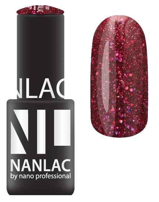 NANO PROFESSIONAL 2170 гель-лак для ногтей, красный бриллиант / NANLAC 6 мл