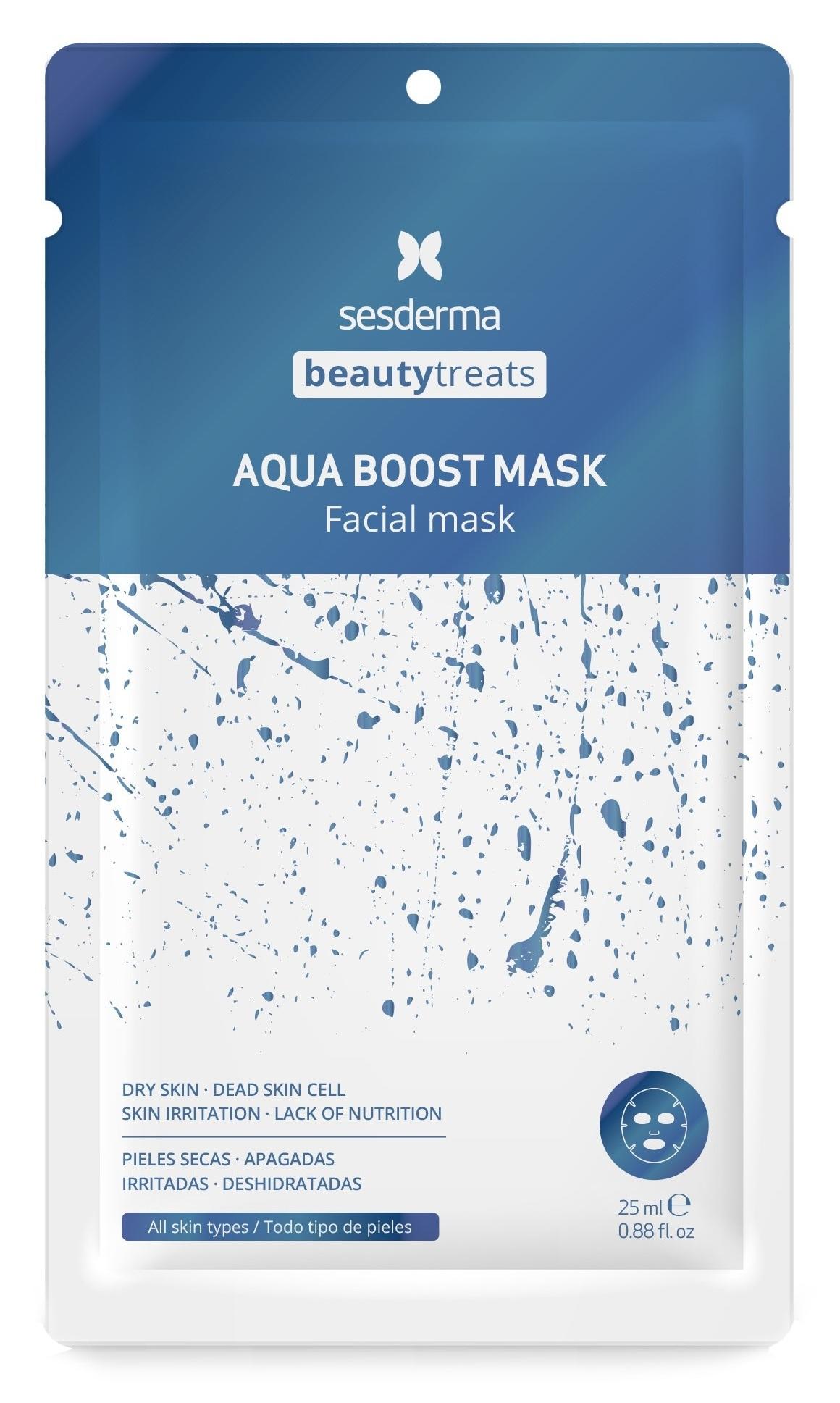 SESDERMA Маска увлажняющая для лица / BEAUTY TREATS Aqua boost mask 25 мл