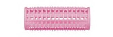 DEWAL BEAUTY Бигуди пластик розовые, d 28x76 мм 10 шт (в комплекте шпильки 80 мм) dewal d 28 12 949267