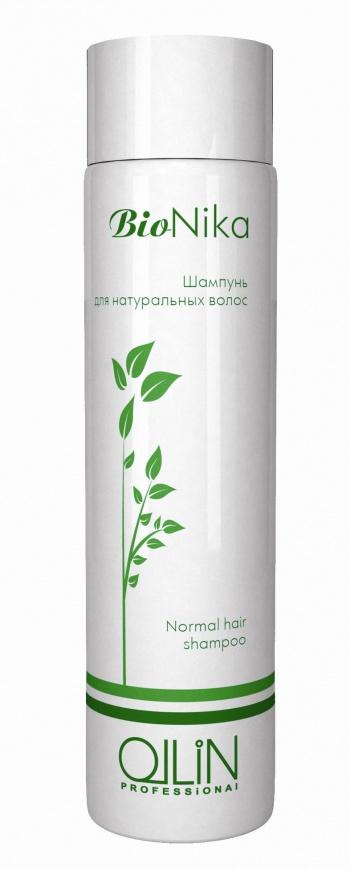 OLLIN PROFESSIONAL Шампунь для натуральных волос / Normal Hair Shampoo BioNika 250млШампуни<br>Шампунь эффективно очищает волосы и кожу головы от загрязнения и стайлинга. Волосы становятся упругими и получают необходимую защиту. Активные ингредиенты: экстракт конского каштана, масло арганы. Способ применения: нанести на влажные волосы, применив легкий массаж головы. Оставить на 1-2 минуты. Смыть водой. Используйте кондиционер для натуральных волос OLLIN BioNika Normal Hair Conditioner.<br>