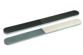 CND Пилка 3-х сторонняя полировочная тонкая 4 Way cnd пилка для акрилата boomerang грубая 100 100