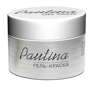 RUNAIL Гель-краска для дизайна ногтей, серебро / Pautina 5 г