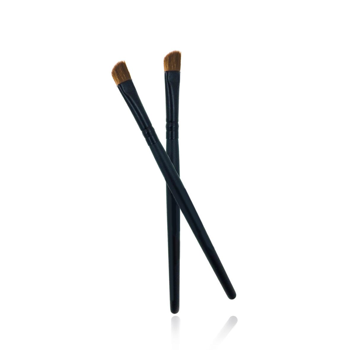 POSH Кисточка профессиональная для растушевки и подводки, со скосом (волокно кинеколон)