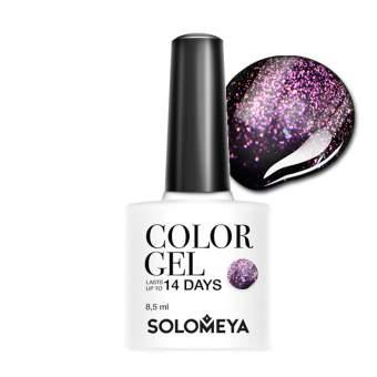 SOLOMEYA Гель-лак для ногтей SCGС029 Аметист / Color Gel Amethyst 8,5мл
