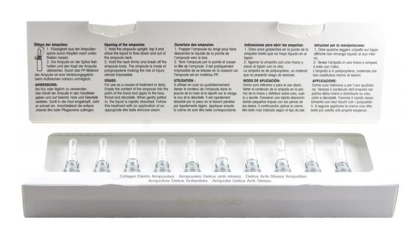 ETRE BELLE Ампулы Коллаген-эластин (Collagen Elastin Ampoules) 10*1.5млАмпулы<br>Ампулы с коллагеном и эластином для эффективной подтяжки контуров лица. Коллаген с обволакивающим действием и эластин проникают в поверхностную структуру кожи, что моментально сглаживает ее делает рельеф. Инновационное действующее вещество триактиген стимулирует новообразование коллагена и эластина, усиливает способность кожи устранять повреждения в структуре собственных волокон. Активные ингредиенты: коллаген, эластин, триактиген, гидровитон 24. Не содержат парабенов.<br>