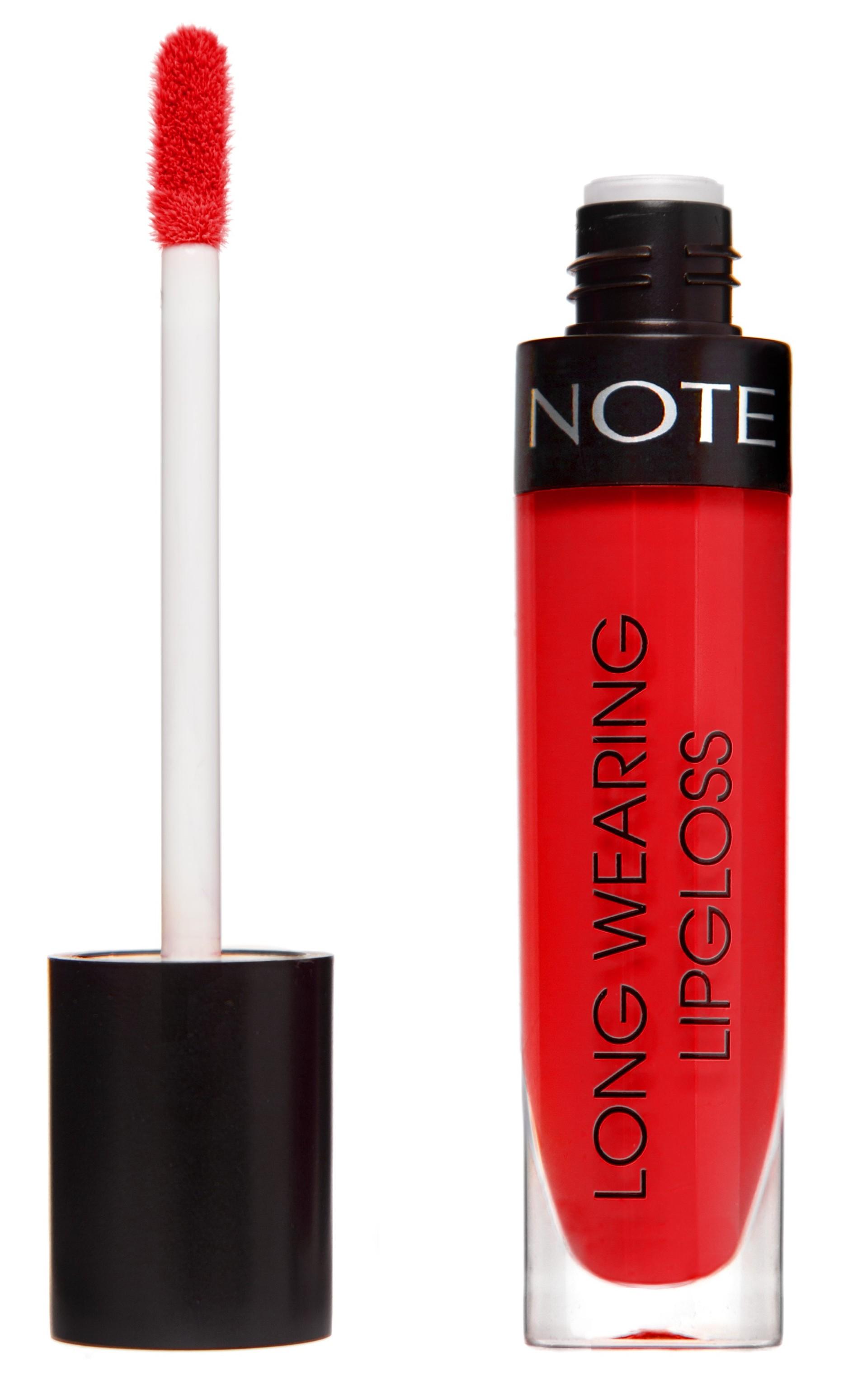Купить NOTE Cosmetics Блеск стойкий для губ 21 / LONG WEARING LIPGLOSS 6 мл