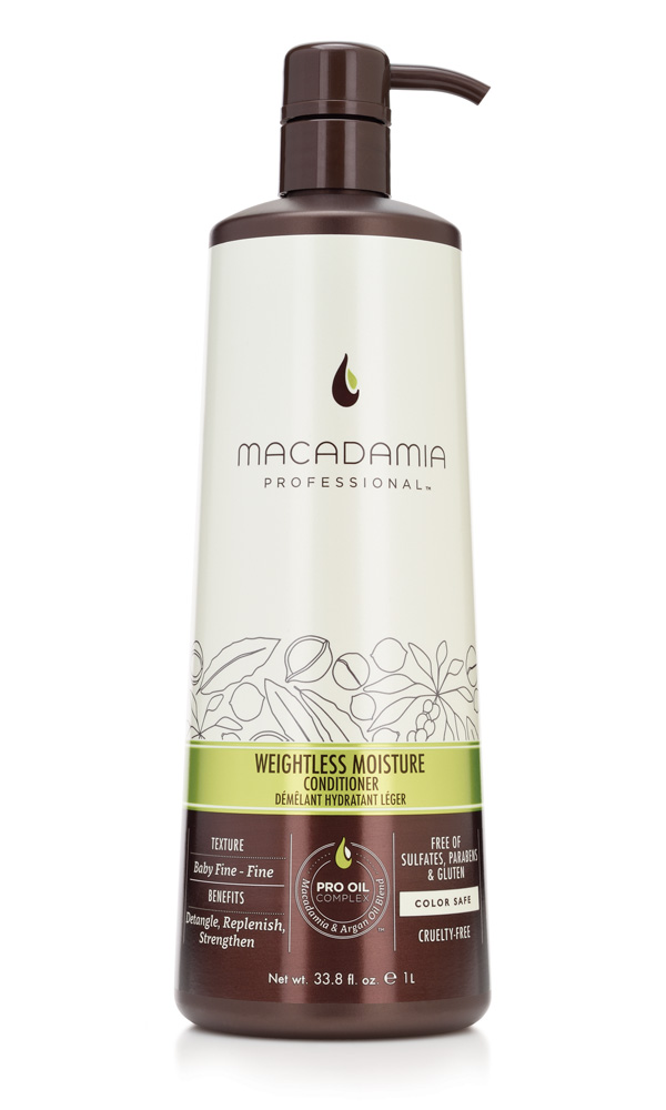 MACADAMIA PROFESSIONAL ����������� ����������� ��� ������ ����� / Weightless Moisture conditioner 1000��