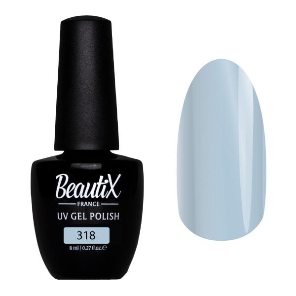 Купить BEAUTIX 318 гель-лак для ногтей 8 мл, Синие