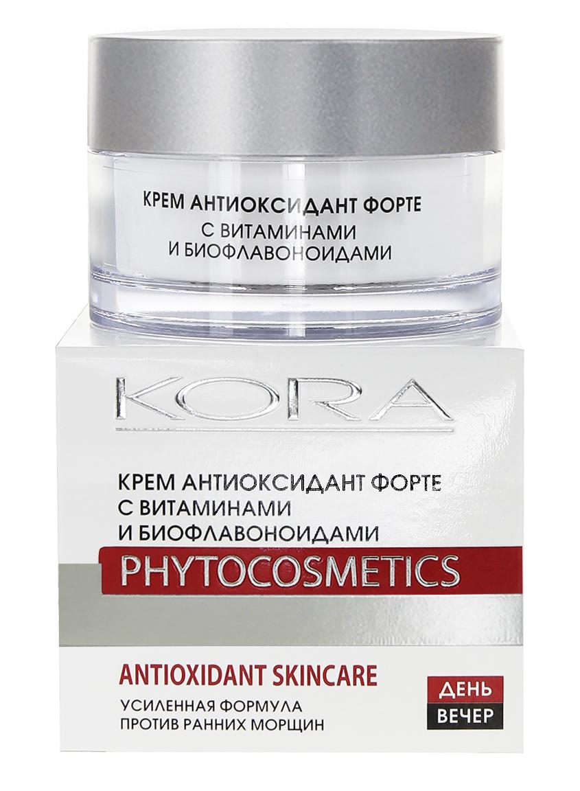 KORA Крем антиоксидант форте с витаминами и биофлавоноидами 50мл