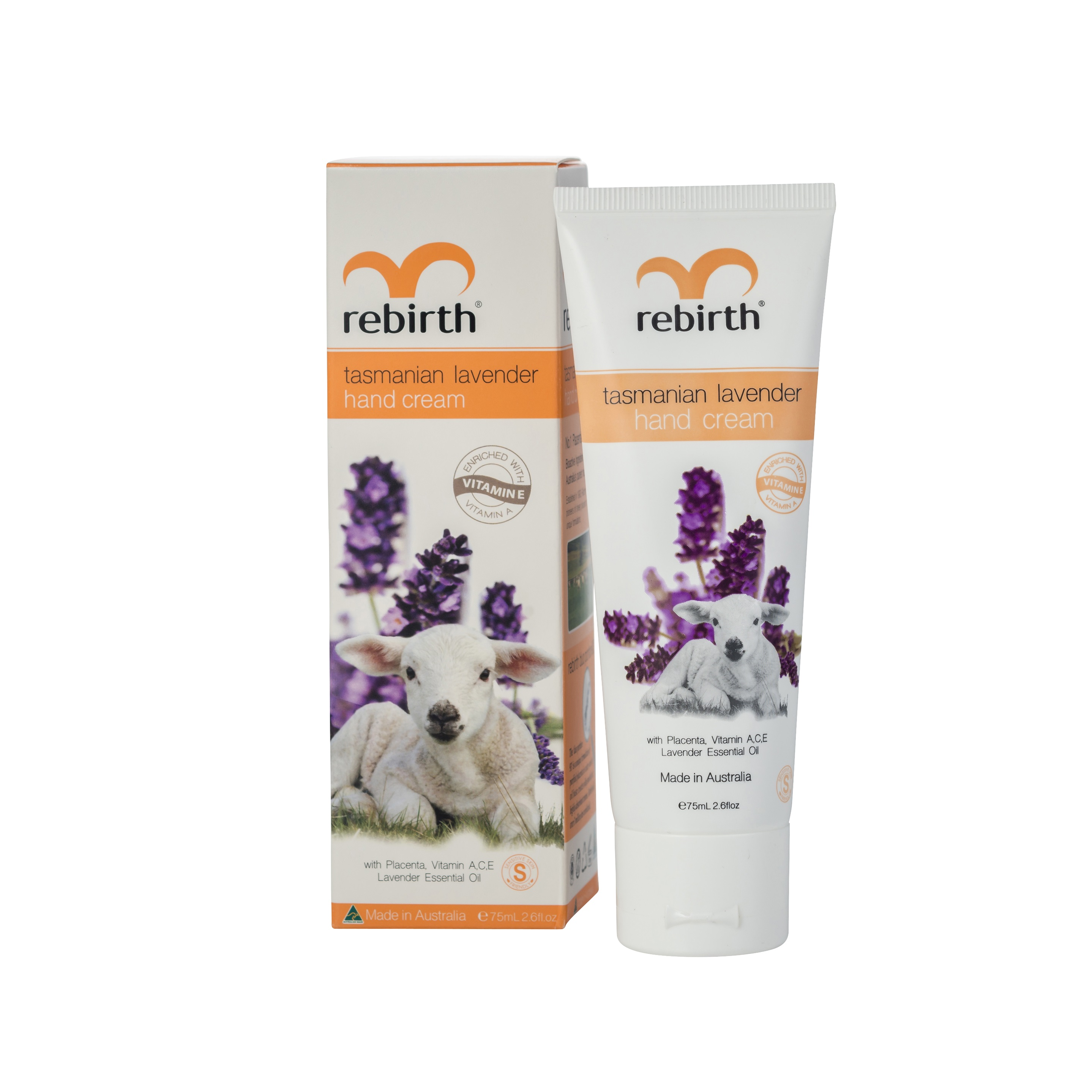 Купить REBIRTH Крем для рук с тасманской лавандой / Tasmanian Lavender Hand Cream 75 мл