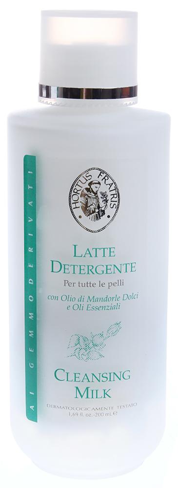 HORTUS FRATRIS Молочко очищающее для всех типов кожи / LATTE DETERGENTE 200мл