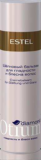 ESTEL PROFESSIONAL Бальзам шелковый для гладкости и блеска волос / OTIUM Diamond 200мл
