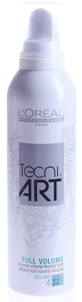 LOREAL PROFESSIONNEL Мусс для объема тонких волос (4) Фулл Волюм / TECNI.ART 250мл