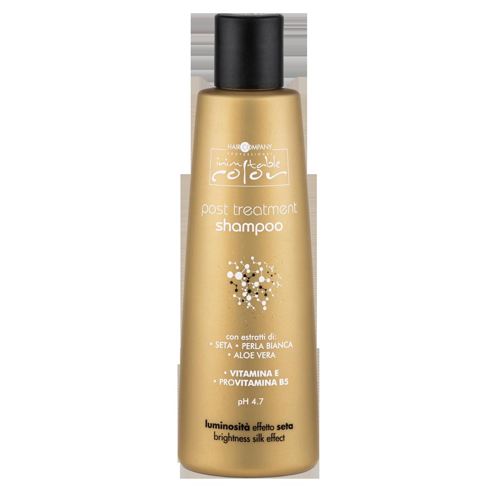 Купить HAIR COMPANY Шампунь стабилизирующий для волос / INIMITABLE COLOR Post Treatment Shampoo 250 мл