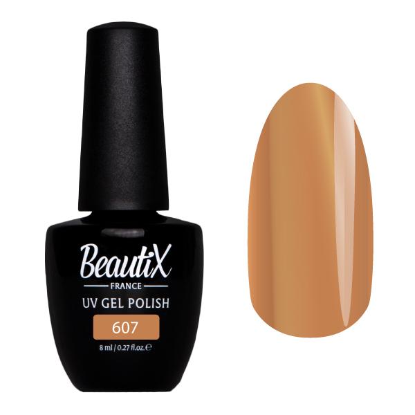 Купить BEAUTIX 607 гель-лак для ногтей 8 мл, Коричневые