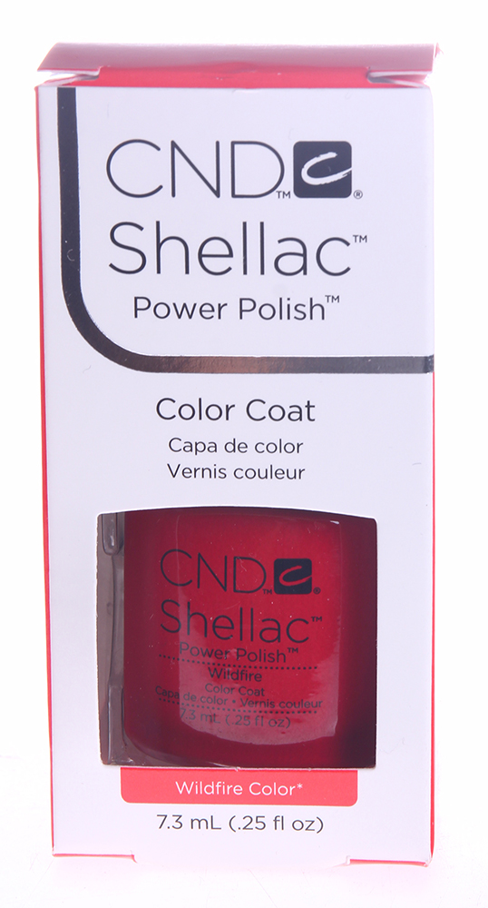 CND 008 покрытие гелевое Wildfire / SHELLAC 7,3мл