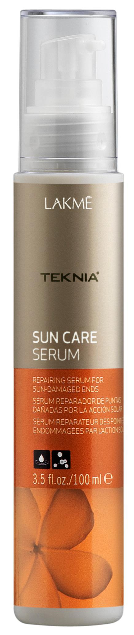 LAKME Сыворотка для восстановления поврежденных солнцем кончиков волос / SUN CARE SERUM 100 мл