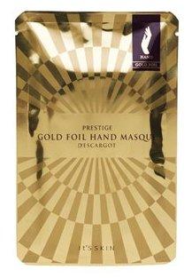 It'S SKIN Маска питательная для рук Дескарго Голд / Prestige Gold Foil Hand Masque D'escargot 6 мл