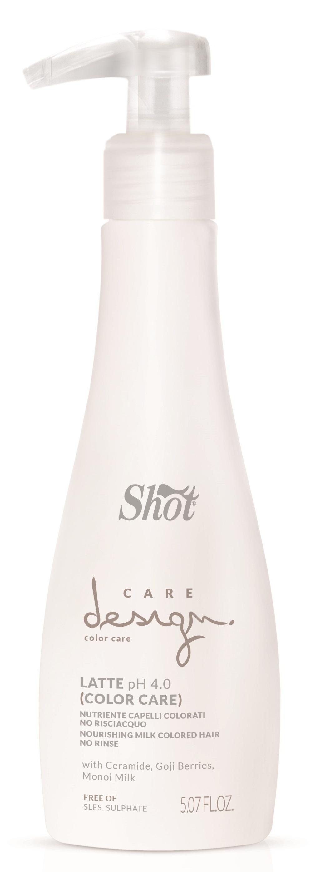 SHOT Молочко питательное для окрашенных волос / Care Design 150 мл