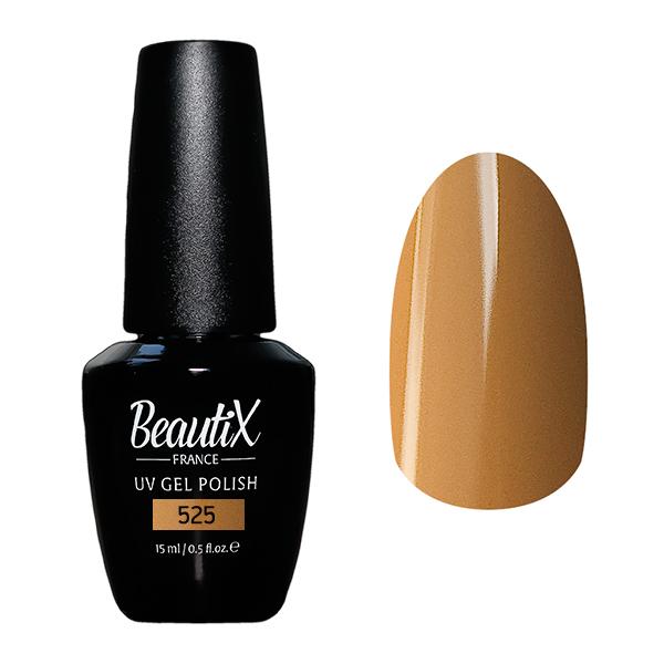 Купить BEAUTIX 525 гель-лак для ногтей 15 мл, Коричневые