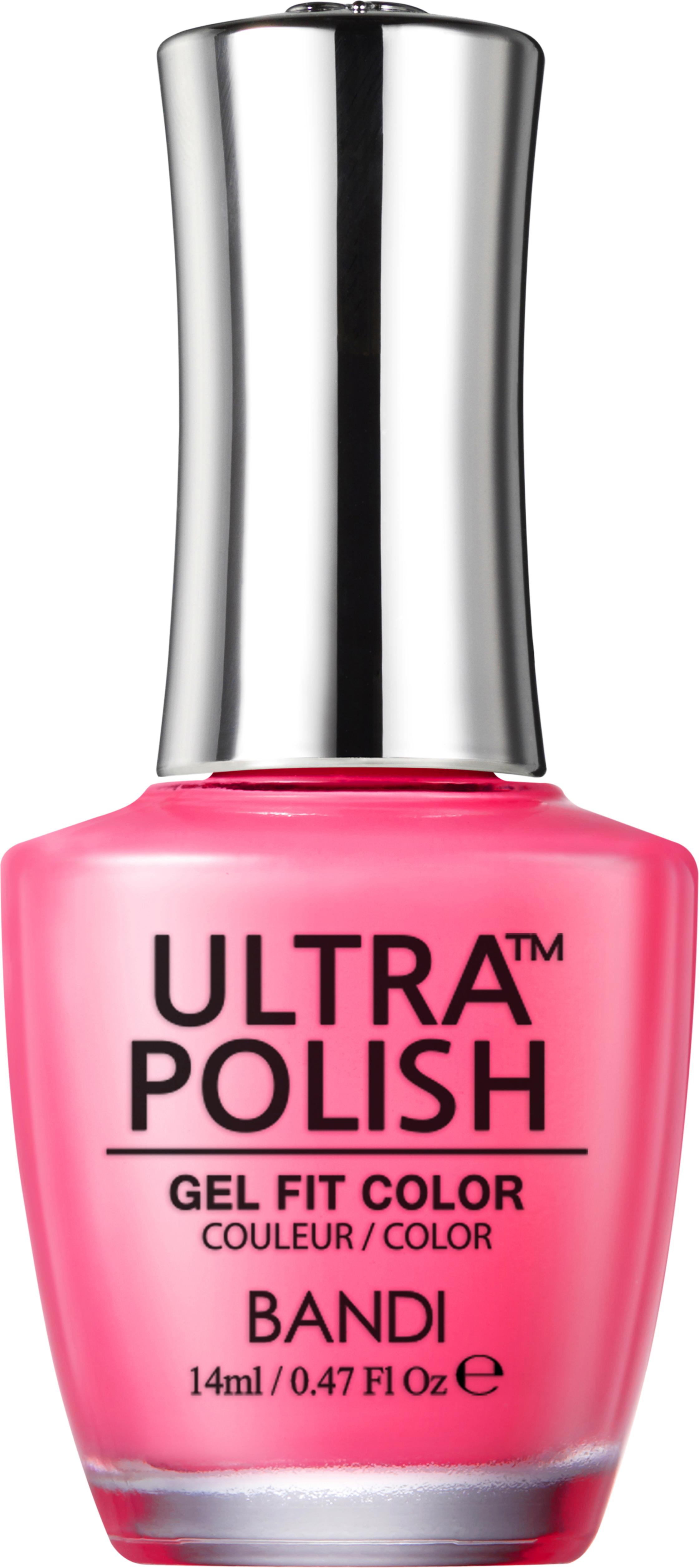 Bandi up108 ультра-покрытие долговременное цветное для ногтей / ultra polish gel fit color 14 мл