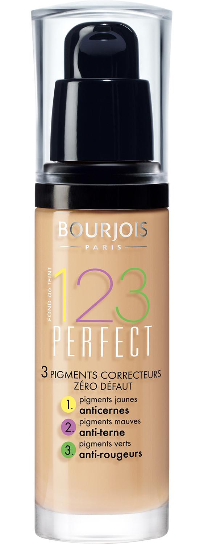 BOURJOIS Крем тональный для лица, 52 ваниль / 123 Perfect New - Тональные основы