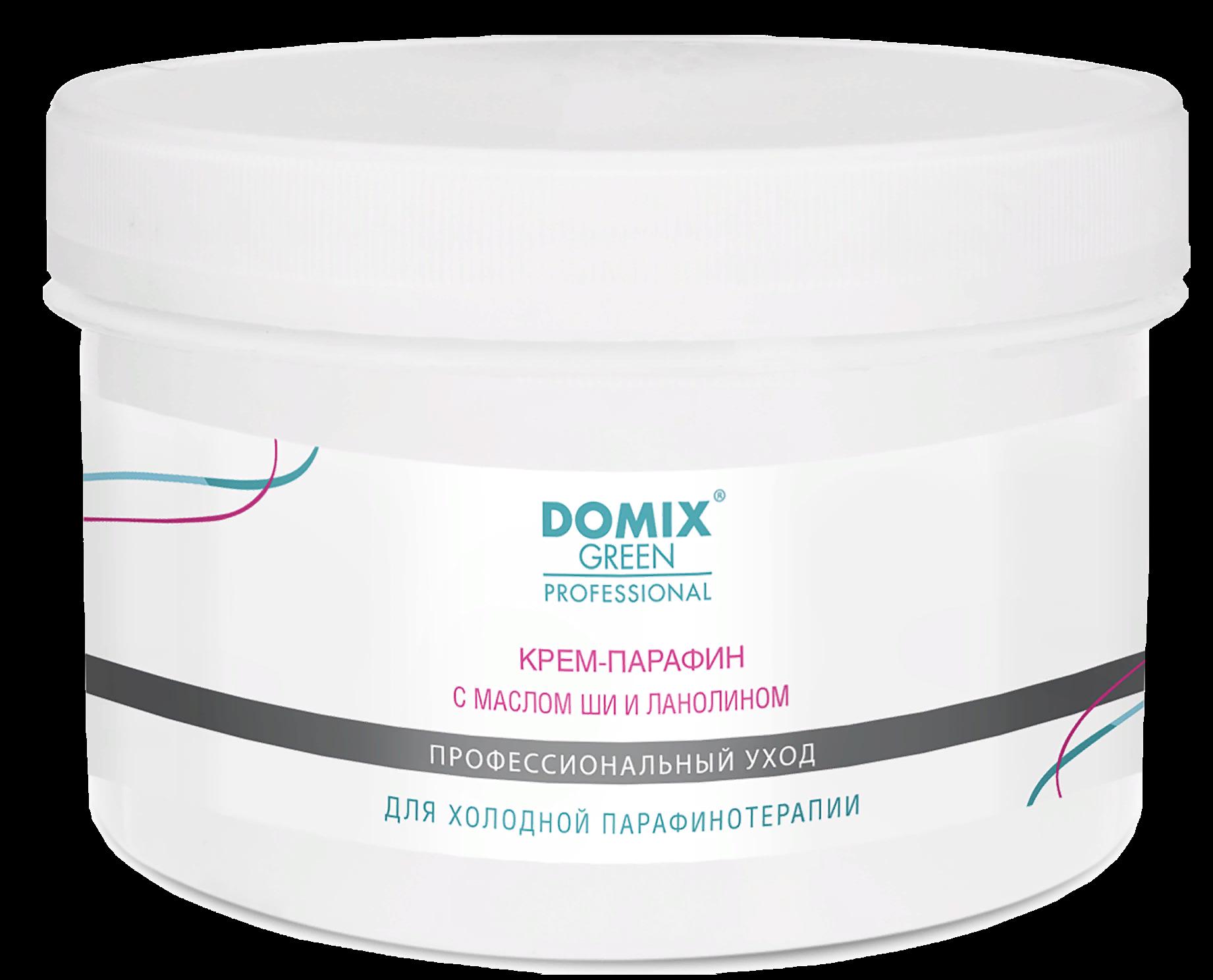 DOMIX Крем-парафин с маслом ши и ланолином / DGP 500 мл