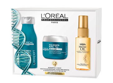 LOREAL PROFESSIONNEL �� �������� ����� ���-�������(���� 100 �� + ����� 75 �� + ����� Mythic Oil 45 ��)