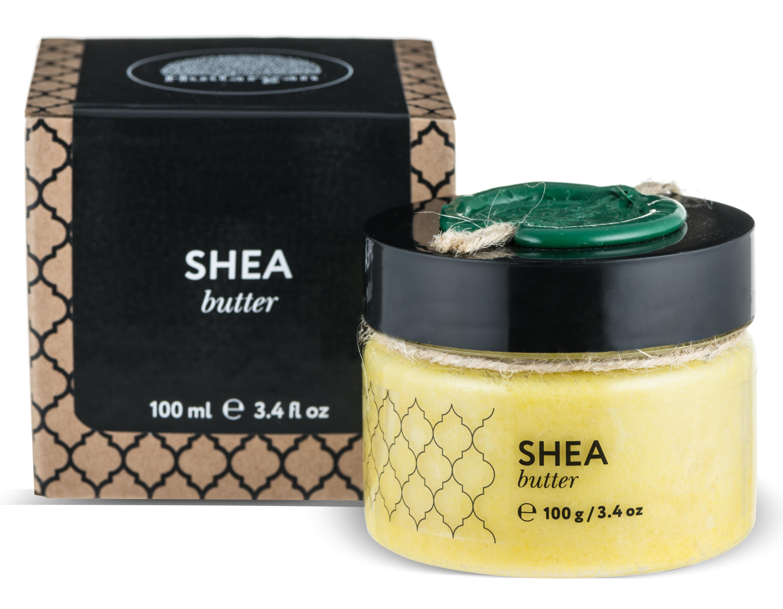 HUILARGAN Масло карите (ши) для тела, баттер 100 г - Масла