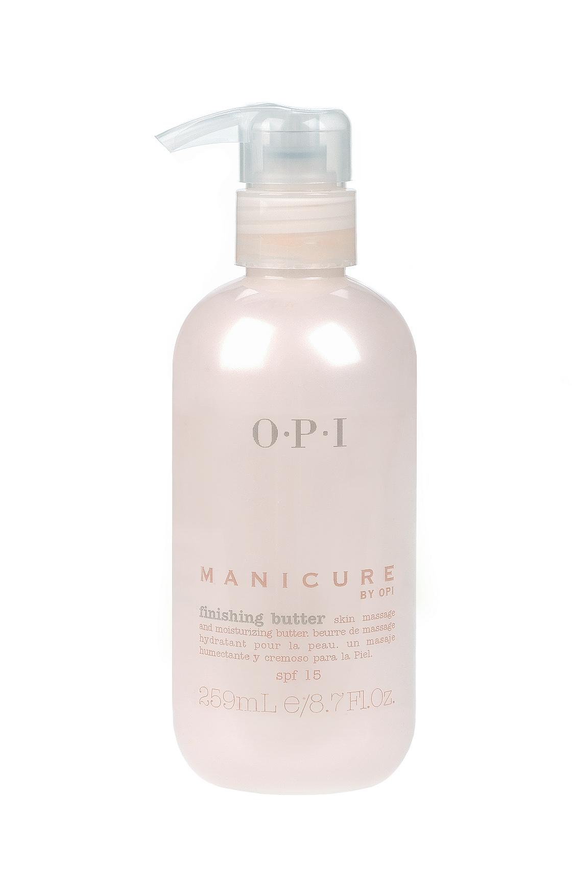 OPI Крем-масло для массажа рук и увлажнения кожи / Finishing Butter 260мл