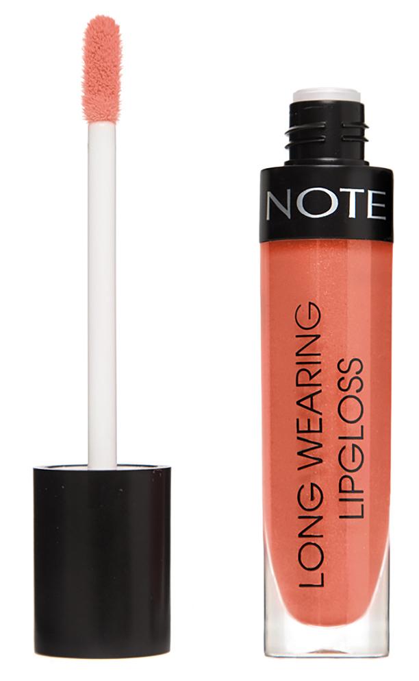 Купить NOTE Cosmetics Блеск стойкий для губ 10 / LONG WEARING LIPGLOSS 6 мл