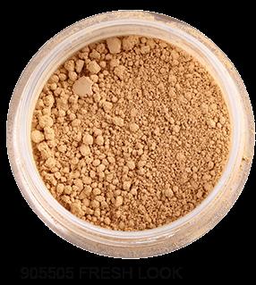 """FRESH MINERALS Пудра-основа рассыпчатая с минералами """"Fresh Look"""" (с пуховкой) / Mineral Powder Foundation 6гр"""