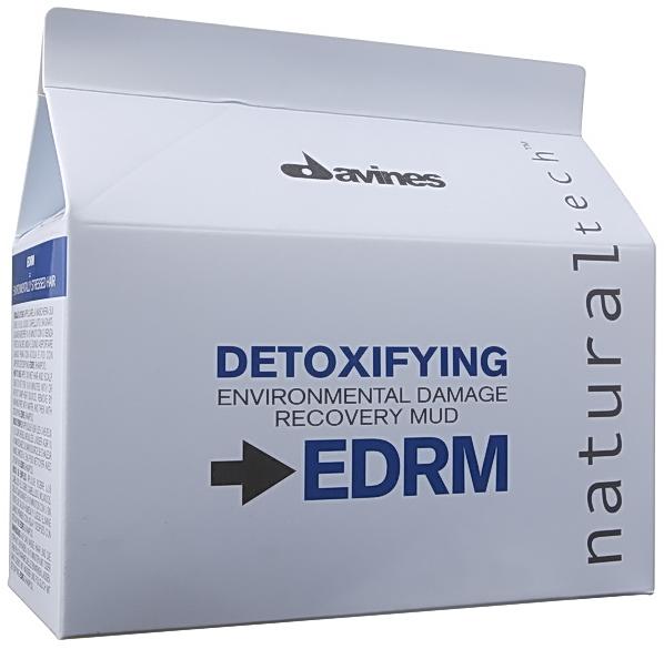 DAVINES SPA Грязь детоксицирующая глубоко очищающая / Detoxifying NATURAL TECH 6*50мл