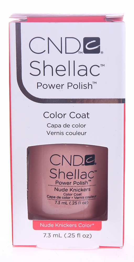 CND 085 покрытие гелевое / Nude Knickers SHELLAC 7,3 мл